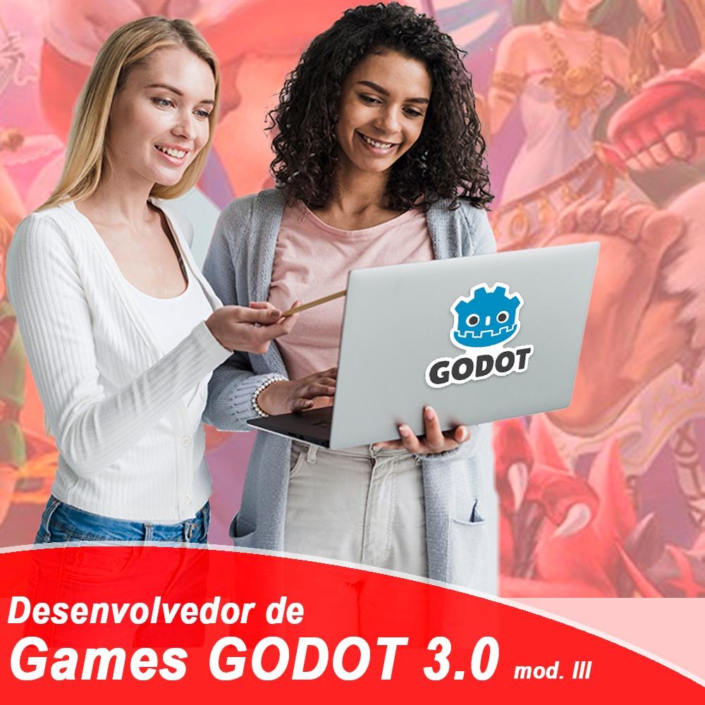 Desenvolvedor de Games com Godot 3.0 – Módulo III